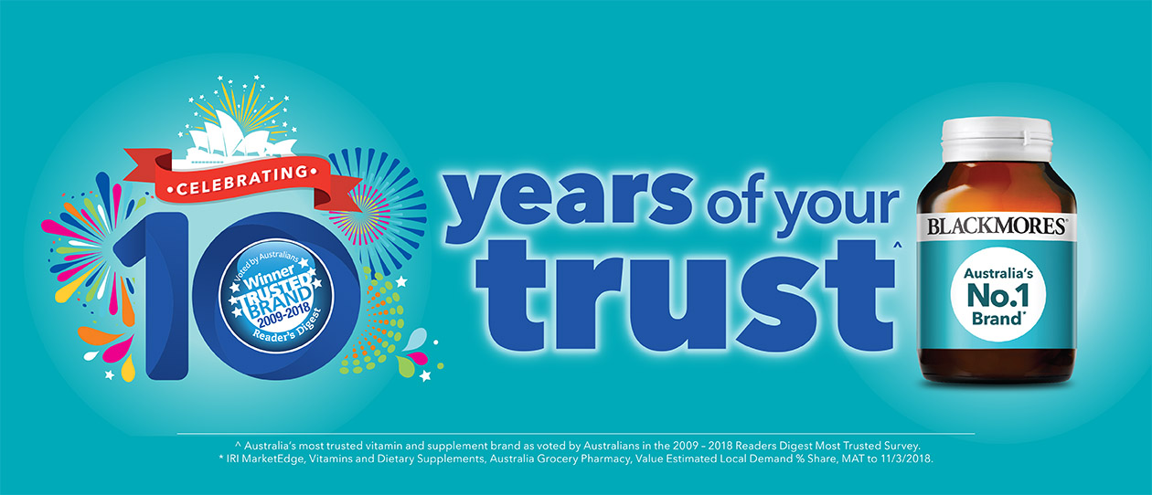 10 Years of Your Trust