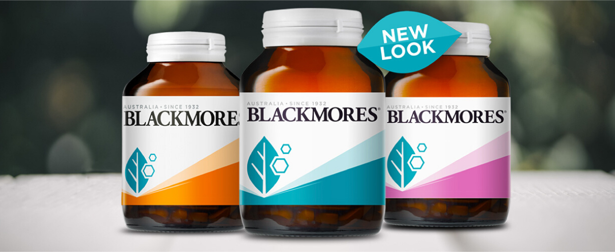 Blackmores New Label